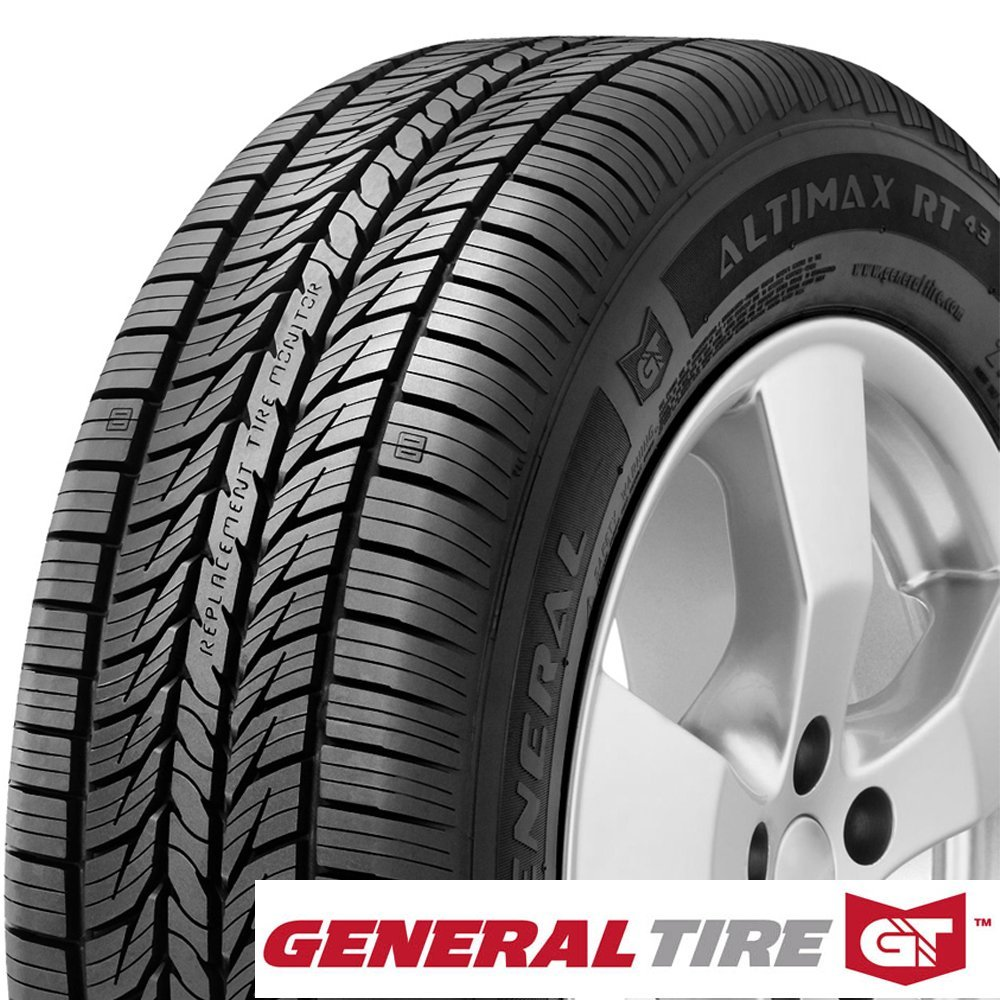 1 New General AltiMAX RT43 205//60R16 92V Tires